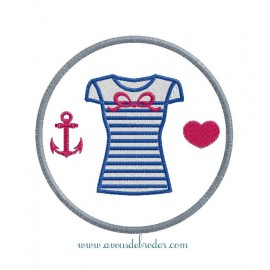 Girl Sailor T-Shirt