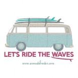 Van Combi et surfs