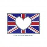 Union Jack (Appliqué Coeur)