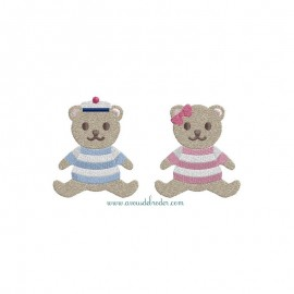 Teddy Bears with a sailor shirt