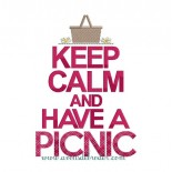 Keep Calm & Have a Picnic