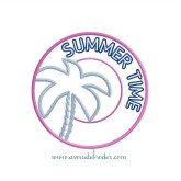 Summer Time Applique