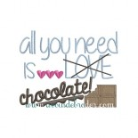 All you need is chocolate