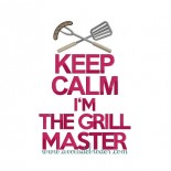 Keep Calm I'm the Grill Master