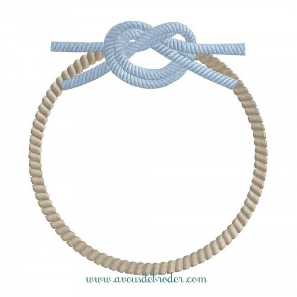 cadre noeud marin