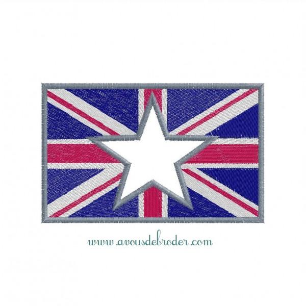 Union Jack (Appliqué Etoile)