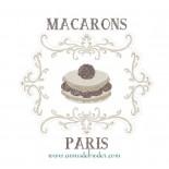 Macaron Chantilly avec Cadre