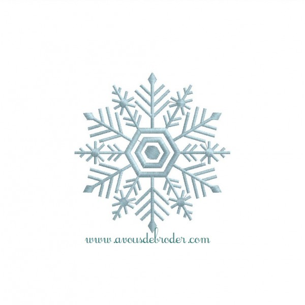 Flocon de neige 5 - Gabarit flocon de neige a decouper ...
