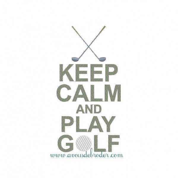 Keep Calm & Play Golf