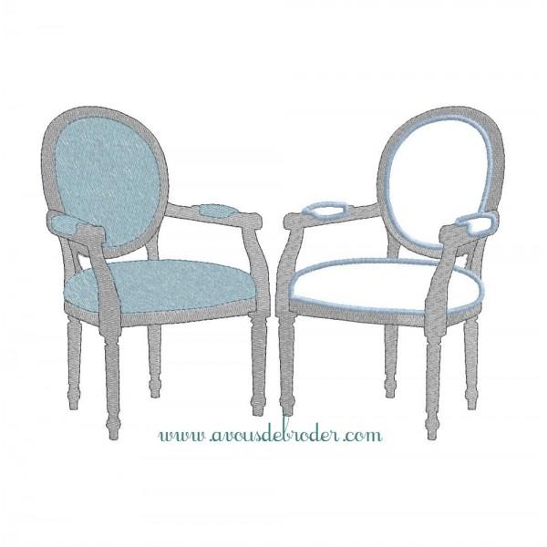 Chaise m daillon louis xvi for Maison du monde chaise louis xvi