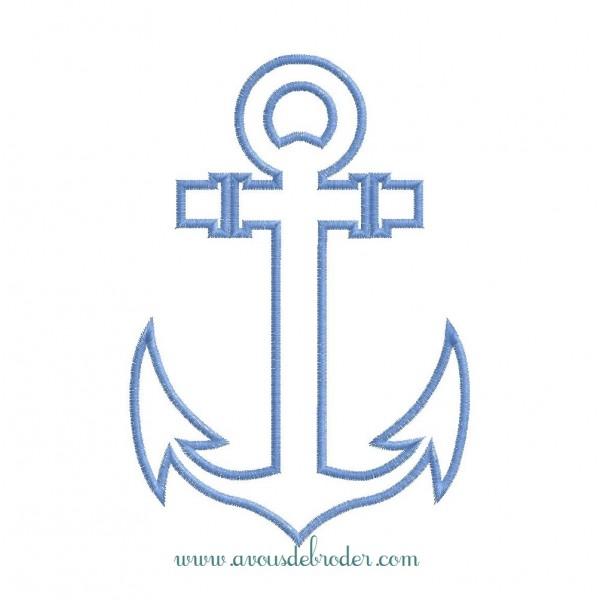 Ancre de Marine - appliqué