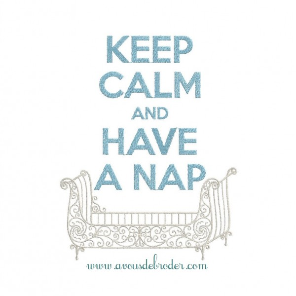 Keep Calm & Have a Nap