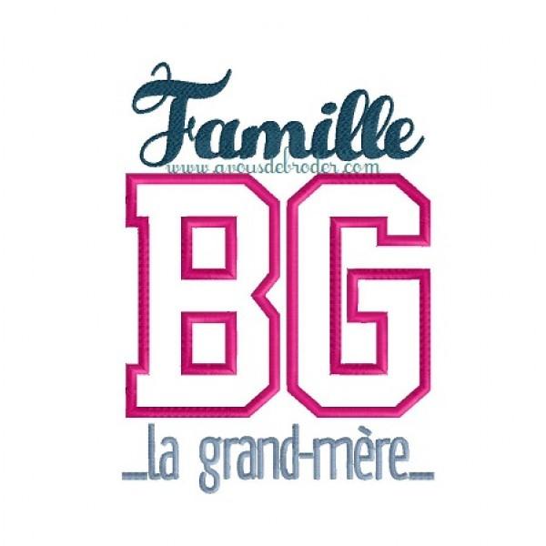 Famille BG la grand mère