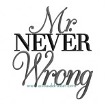 Mr never Wrong
