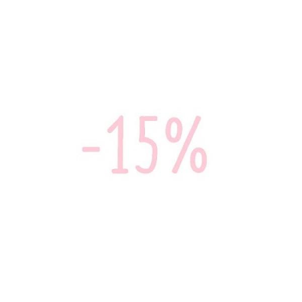 -15% veuillez lire les informations
