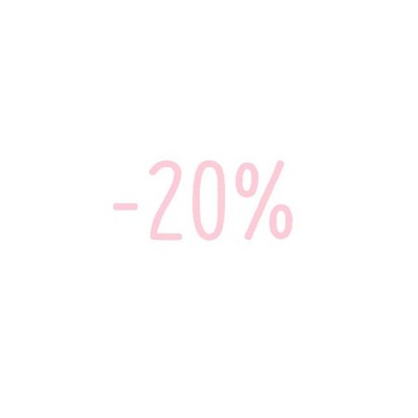 -20% veuillez lire les informations