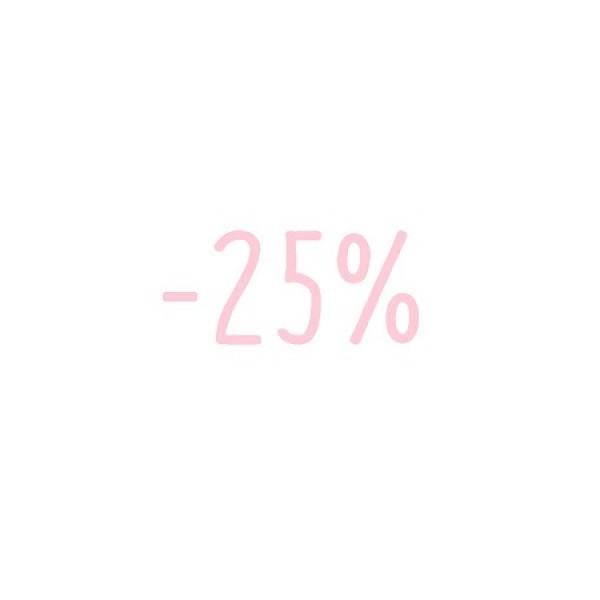 -25% veuillez lire les informations
